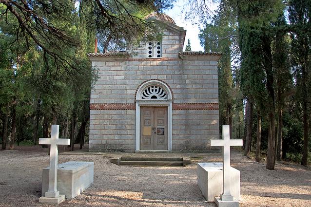 Ο Ναός της Αναστάσεως στο Βασιλικό Κοιμητήριο